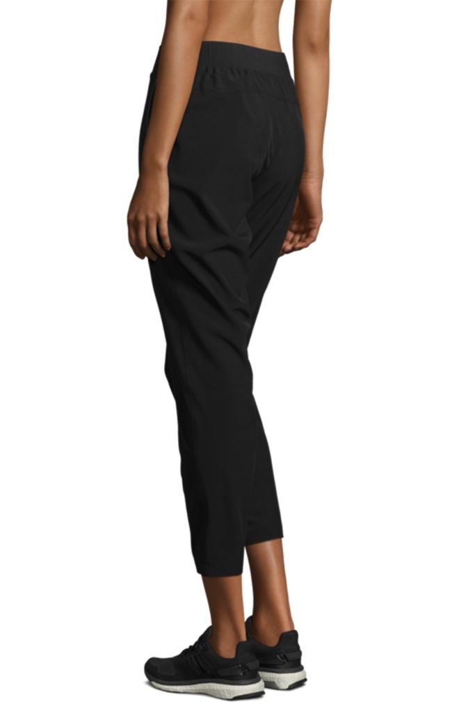 Slim woven pants Black