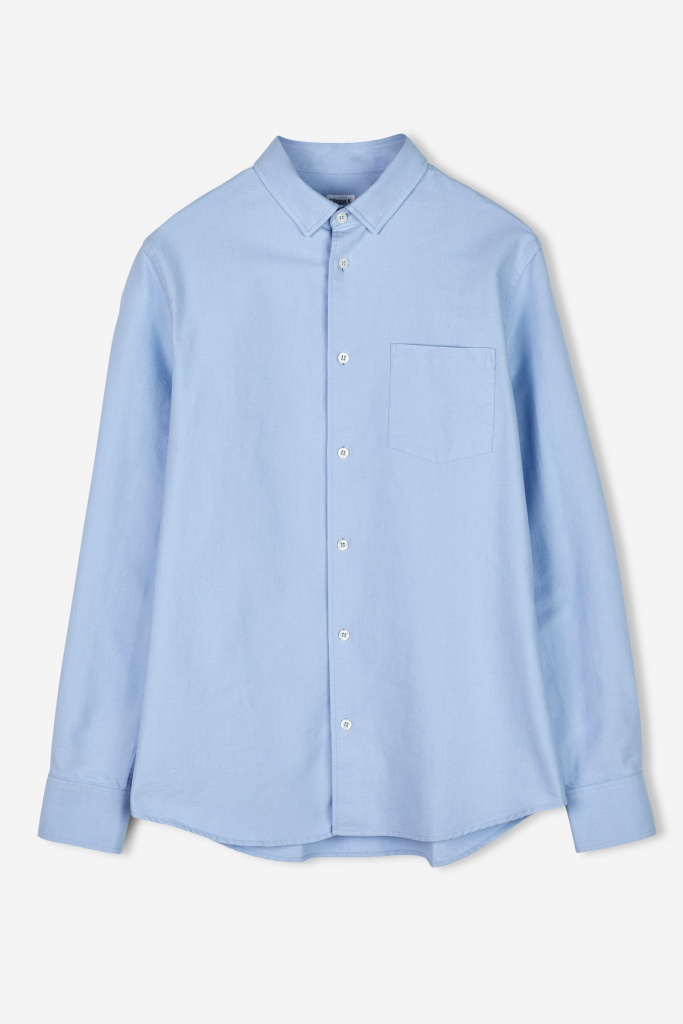 M. Tim Oxford Shirt Light blue