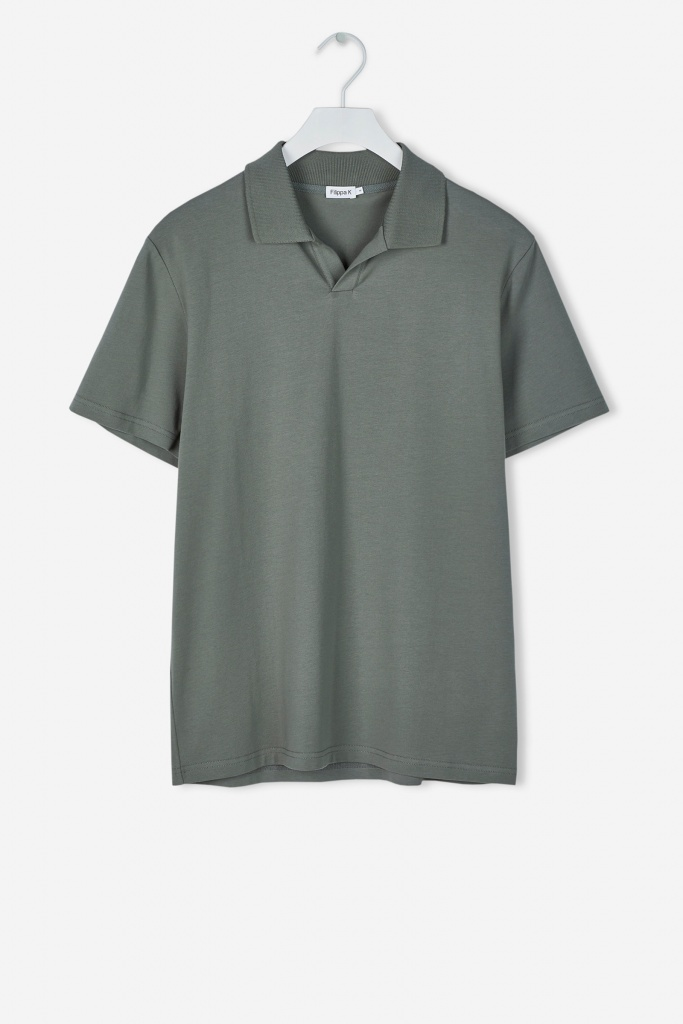 M. Soft Lycra Polo T Shirt Platoone