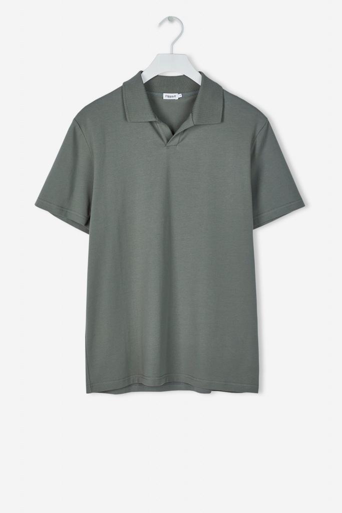 M. Soft Lycra Polo T-Shirt Platoone