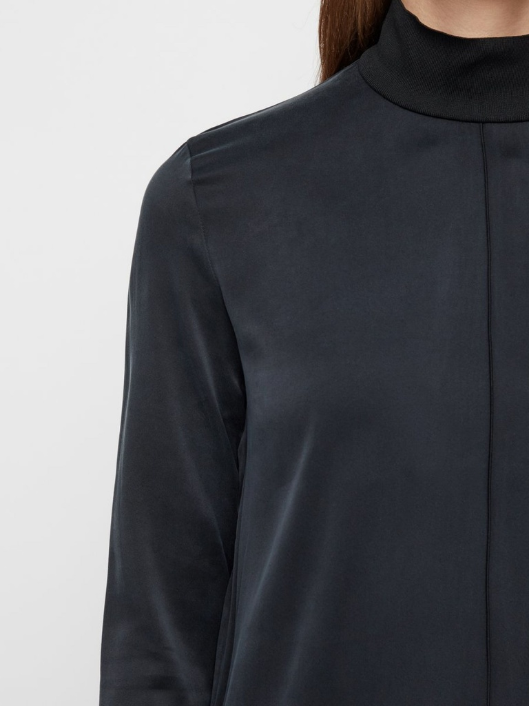 Marina Washed Silk Black
