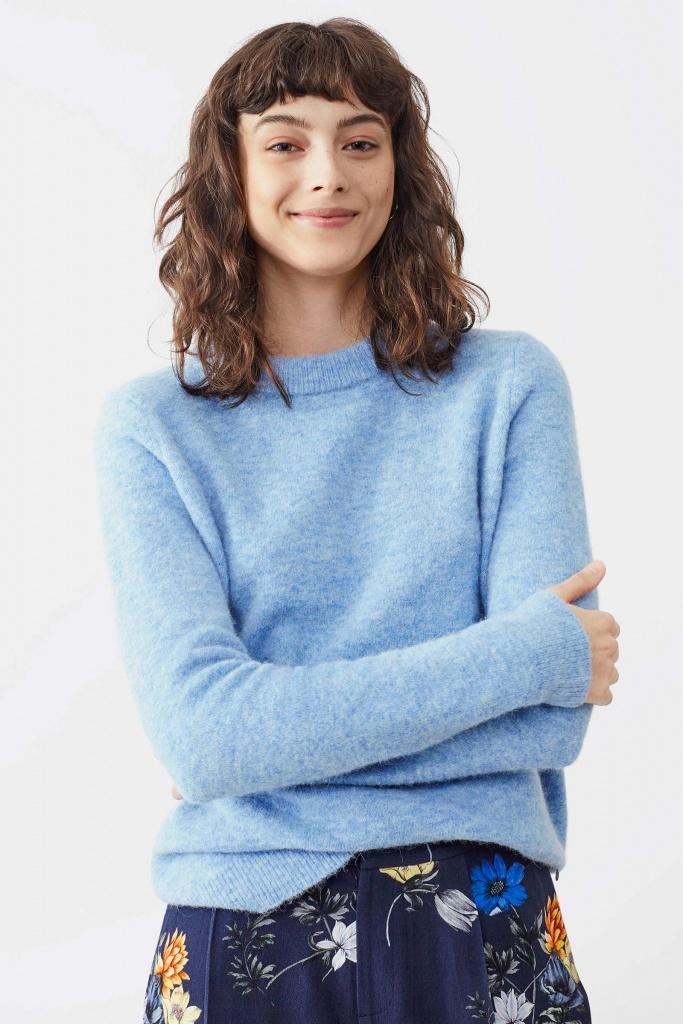 Estelle sweater cold blue