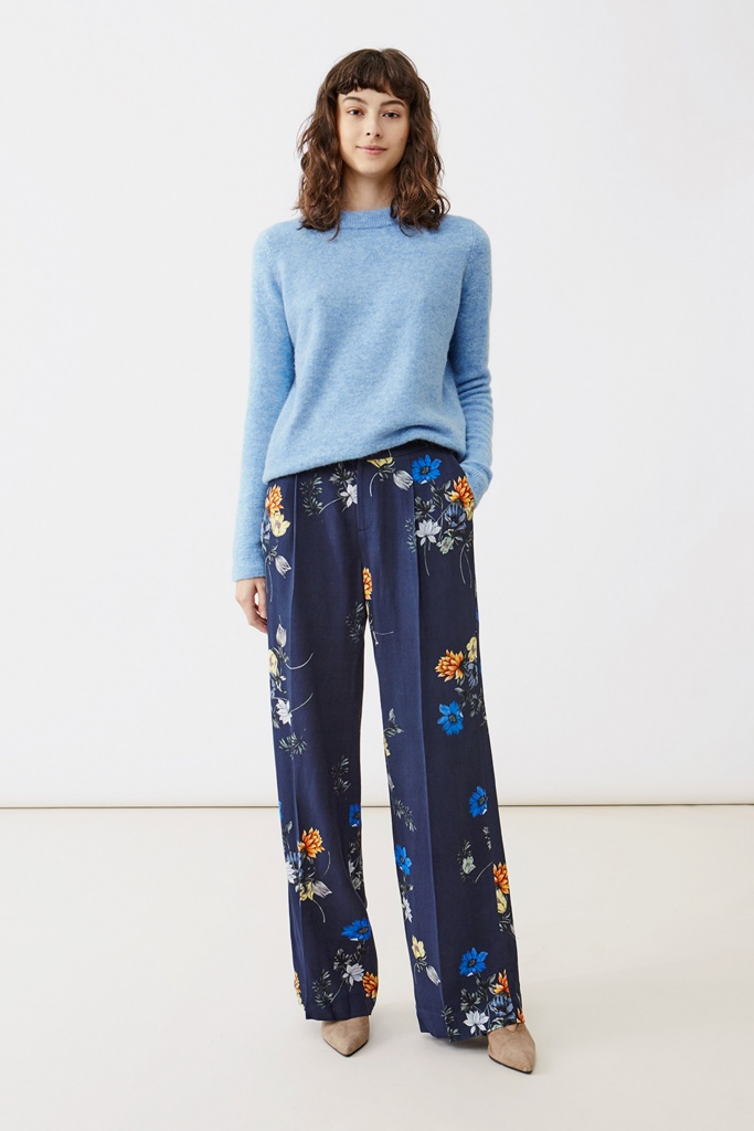 Salome trousers sporty flower