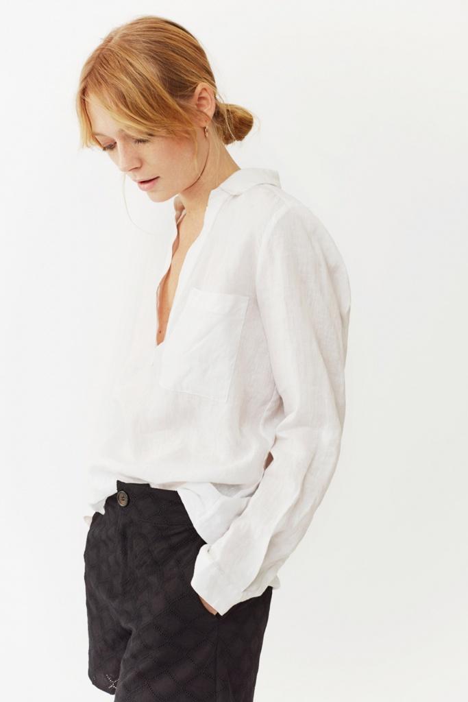 Jaden Shirt White