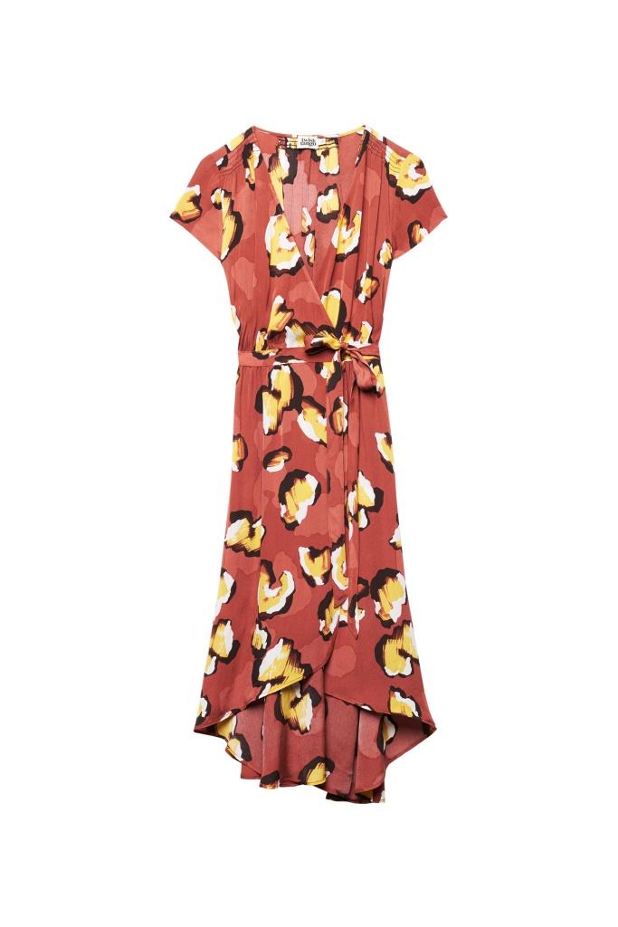 Hilma Dress Terracotta Leo