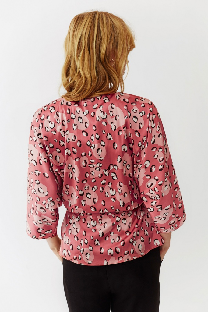 Georgina Blouse Rose Leo