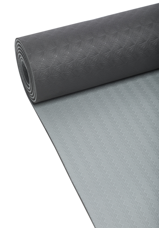 Yoga mat 4mm 902black/grey