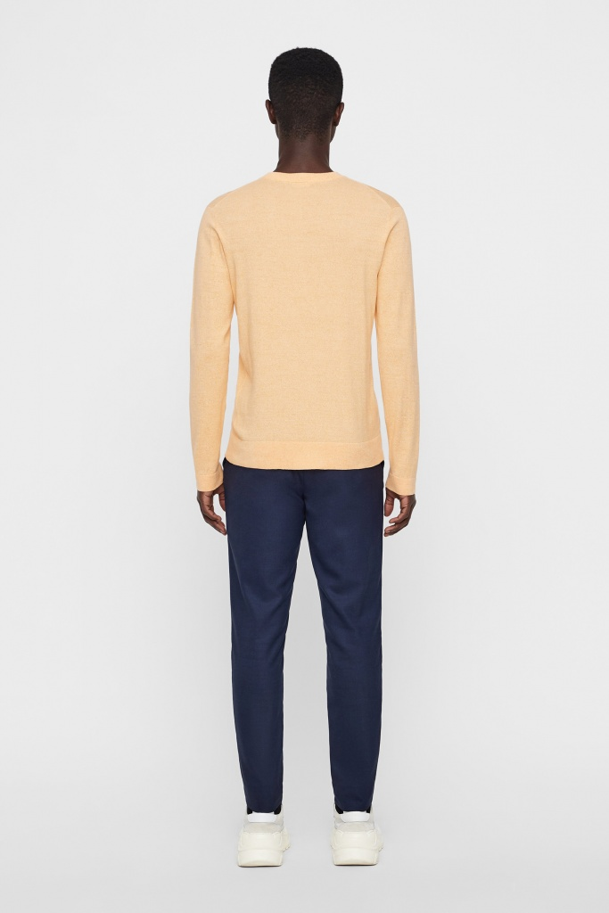Niklas R-Neck Refined Cotton Cool Peach