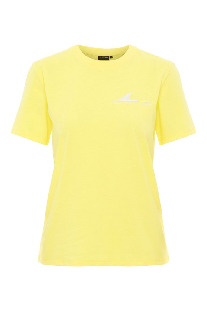 Monique Supima Jersey Butter Yellow