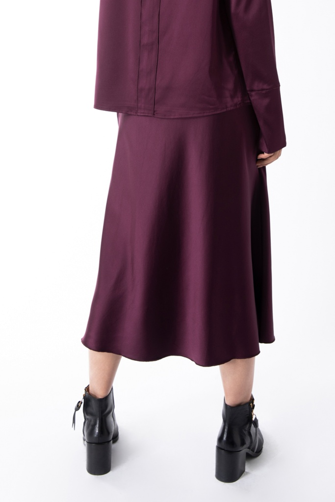 Hana skirt Burgundy