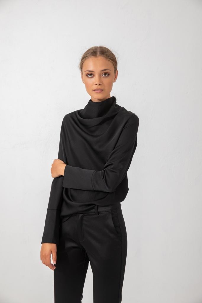Ayumi blouse Black