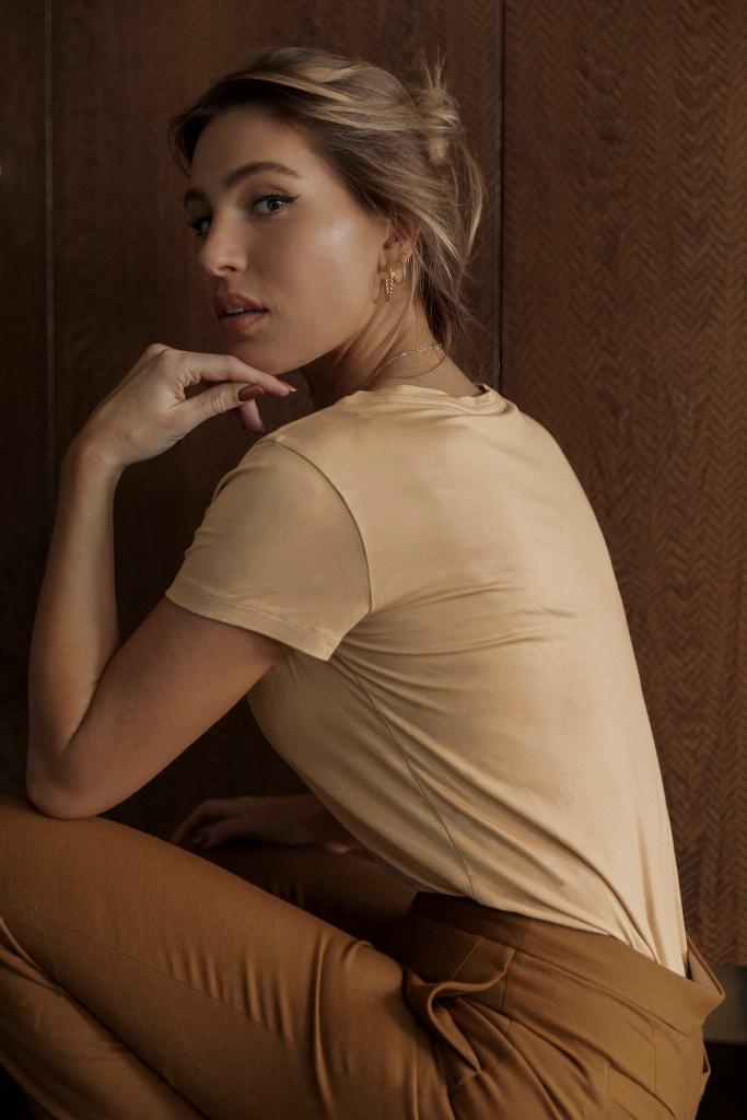 SB T-shirt classic beige
