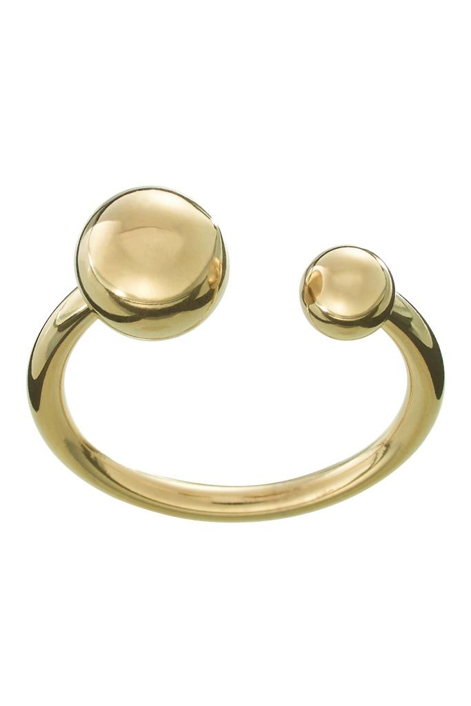 Atom Ring Gold gold