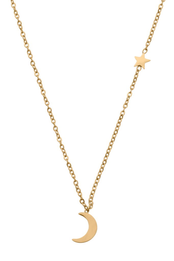 Bright Night Necklace Gold gold