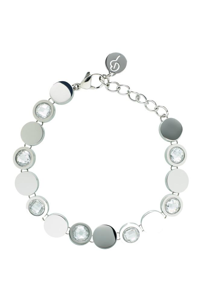 Evening Bracelet Steel Silver