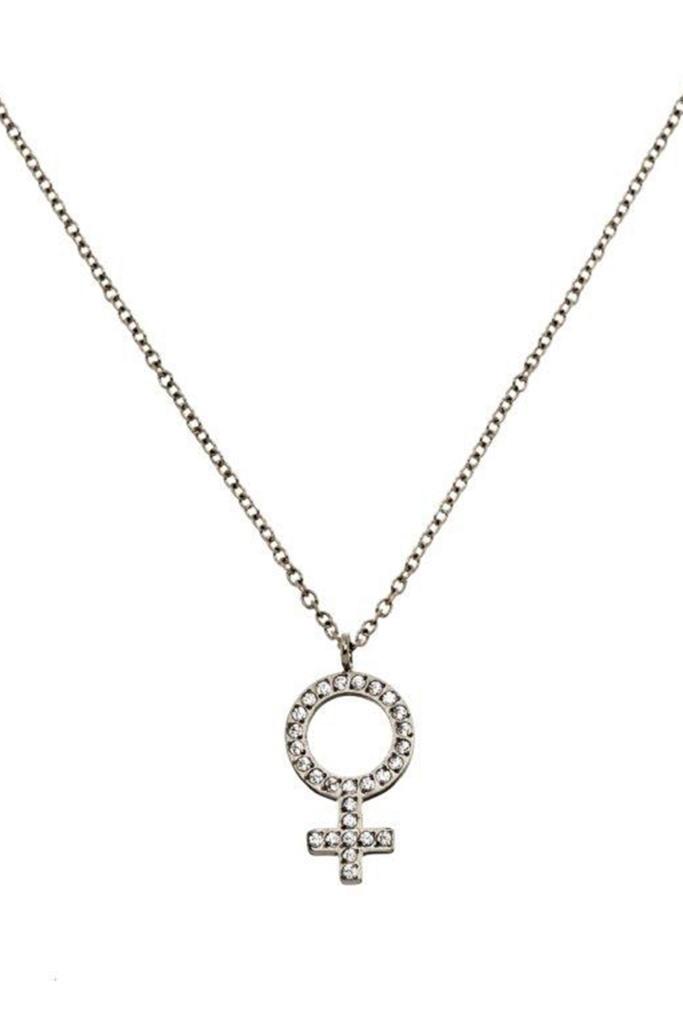 Me necklace steel steel