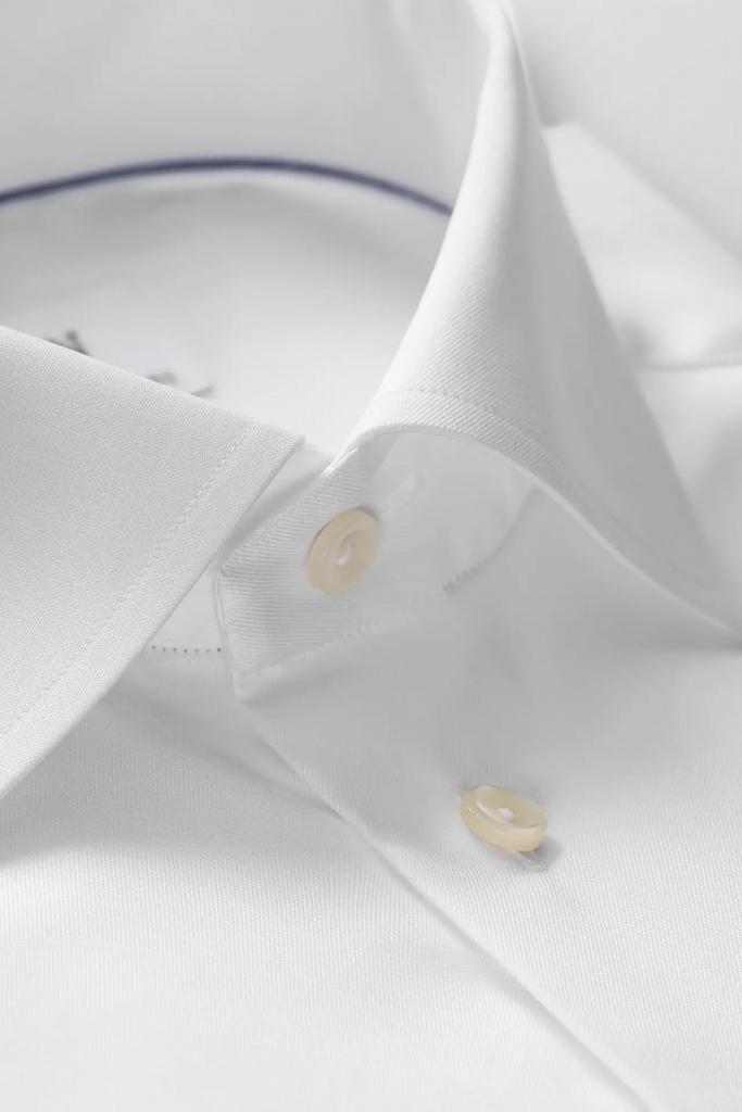 Signature twill shirt White