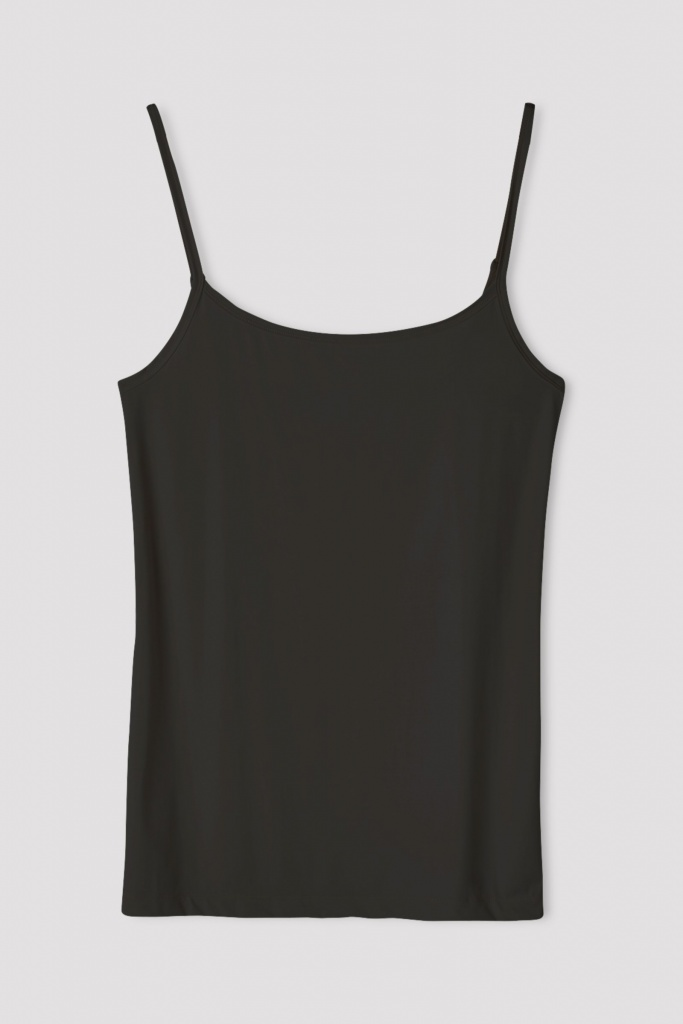 Tech Slip Top Black