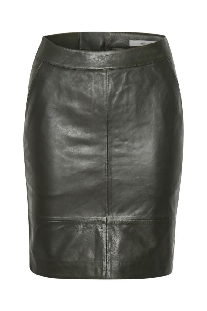 CharGZ mini skirt dark green