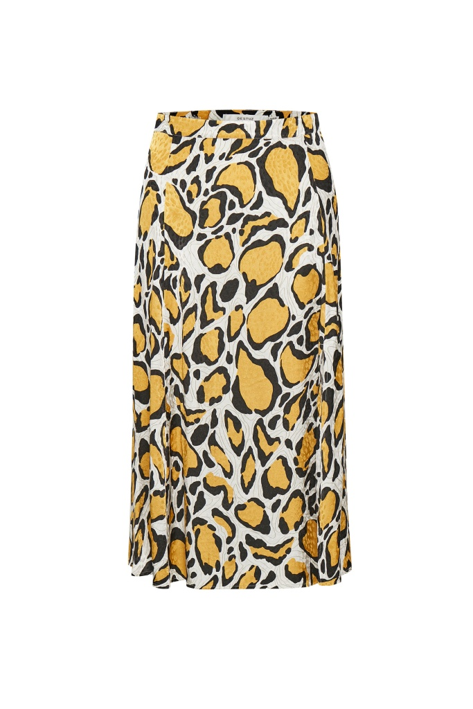 IrinaGZ skirt Yellow animal