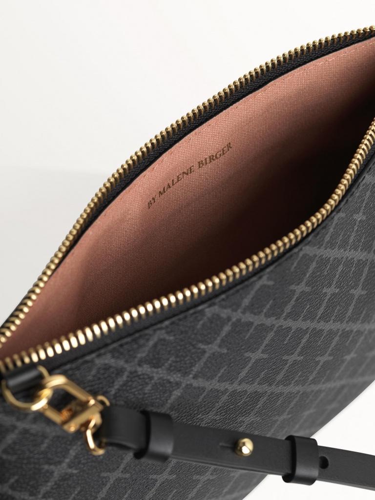 Ivy purse Charcoal
