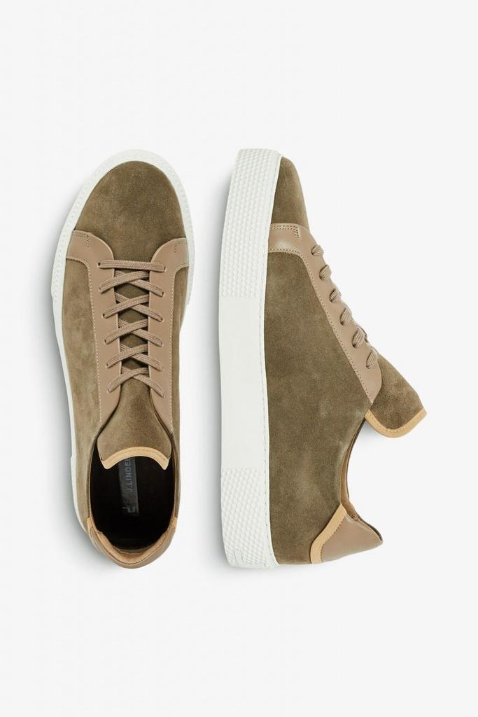 Sneaker LT QP Suede covert green