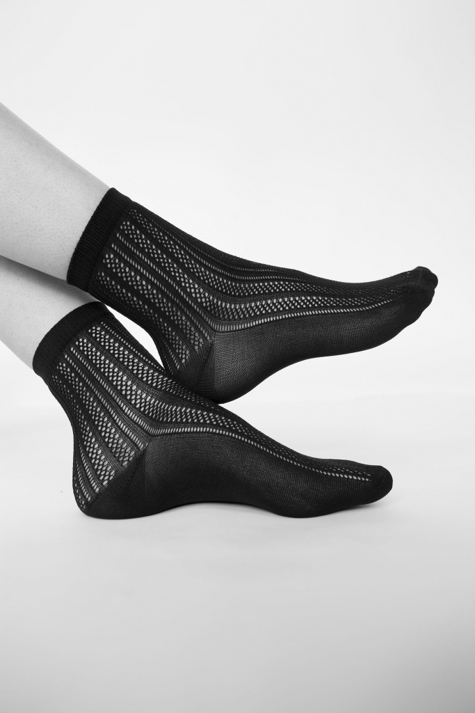 Klara knit socks Black