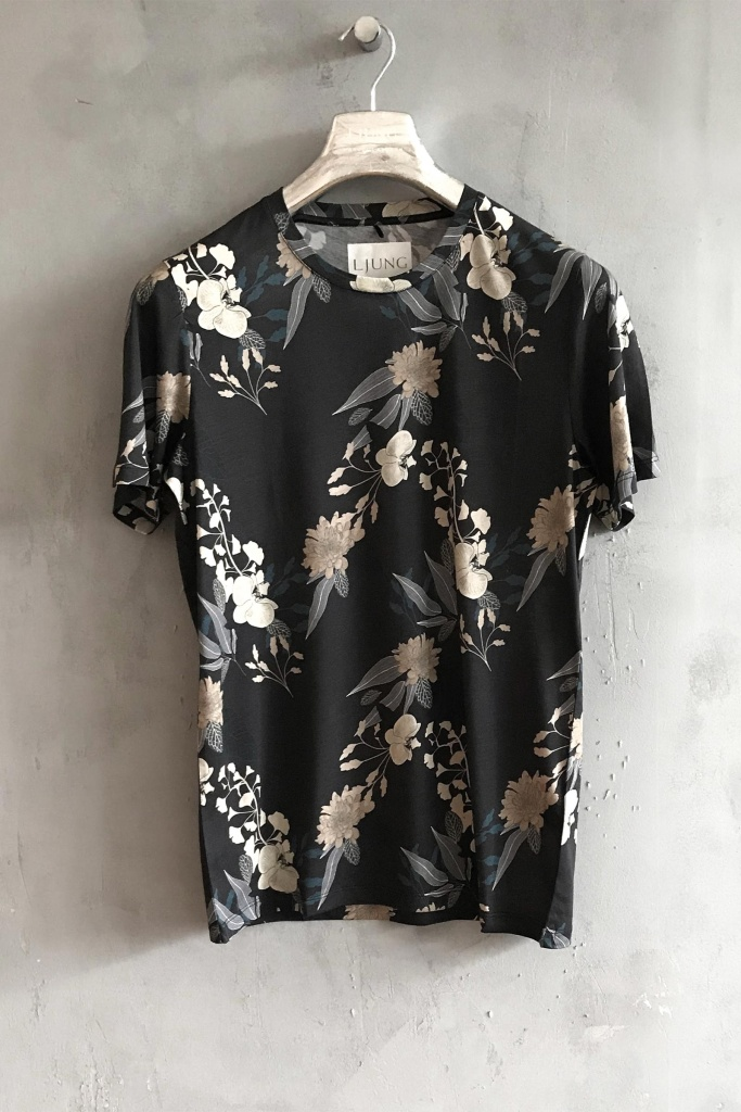Cotton Modal Tee Orchid