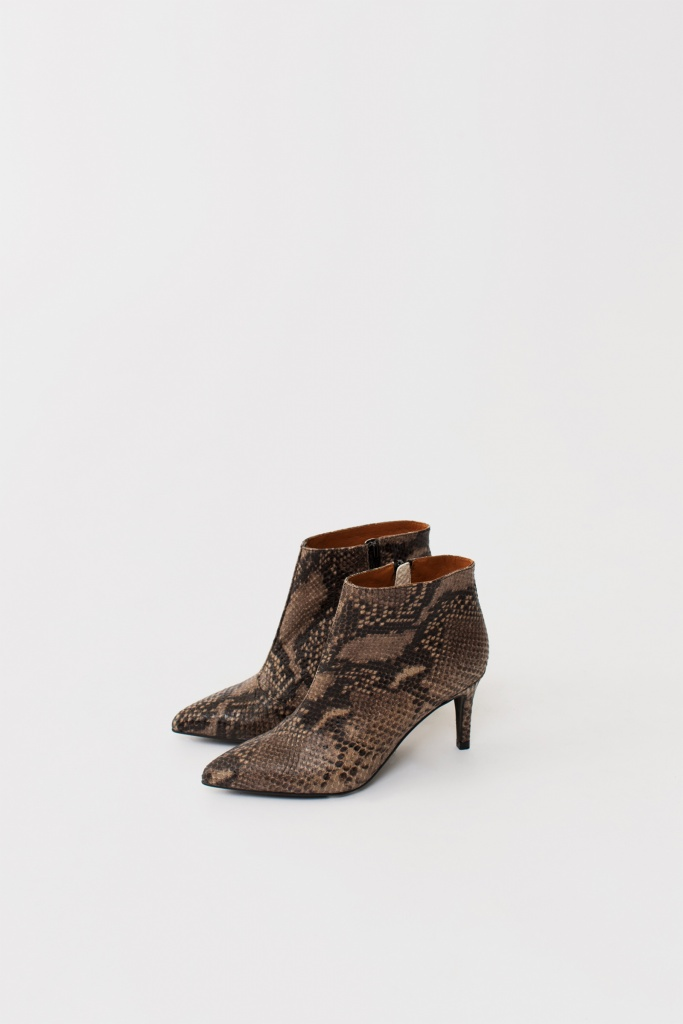 Lyon Boots brown snake