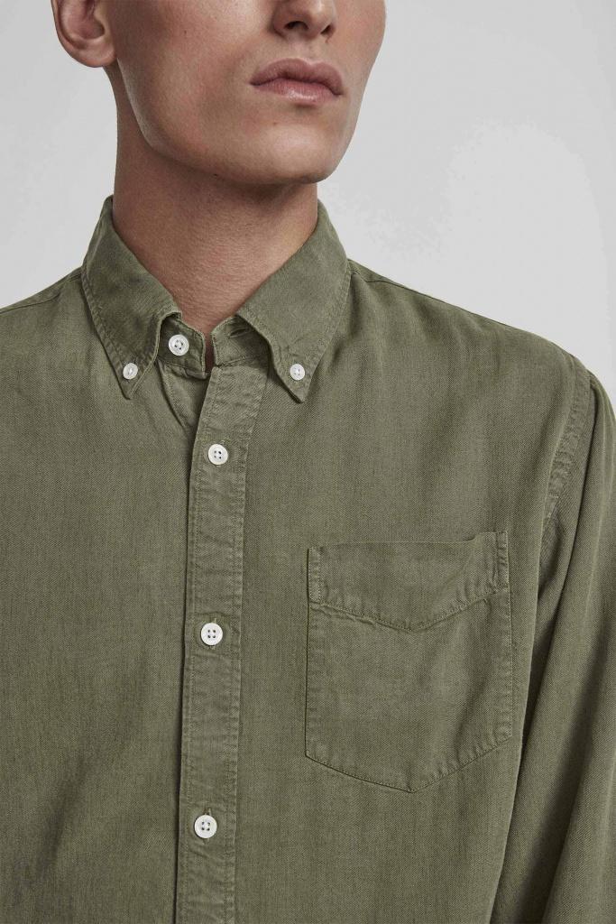 Levon Shirt Leaf Green