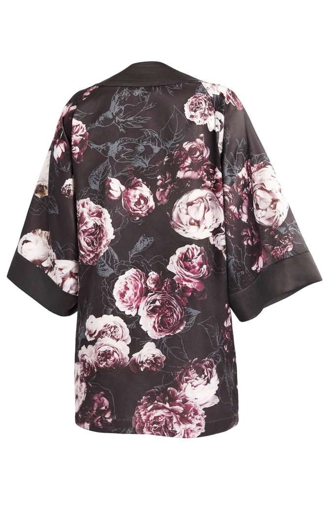 PUMA x KENZA Kimono Black