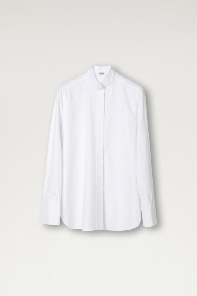 Leijai shirt Pure White