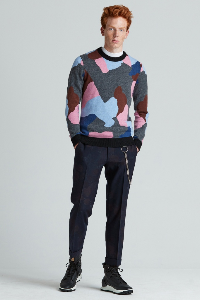 CoWo Jaq High Crewneck multicolor
