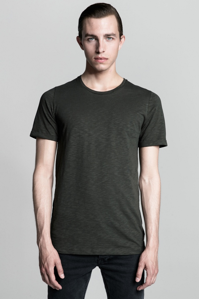 Core tee hunter green