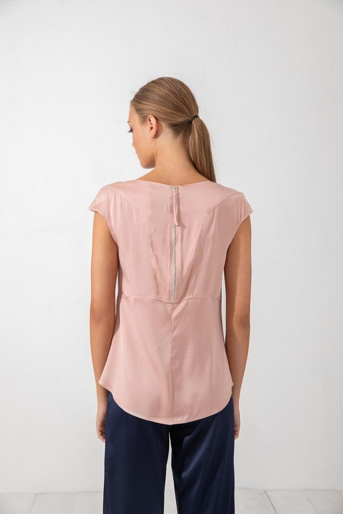 Yui top dusty pink