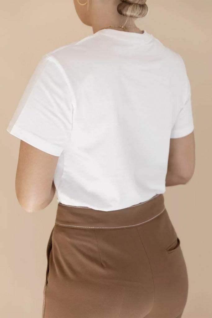 SB T-shirt classic White