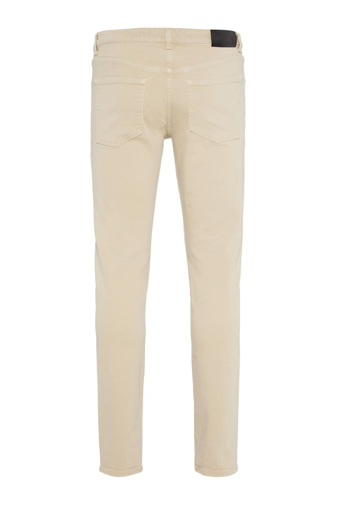 Jay Solid Stretch Oxford Tan