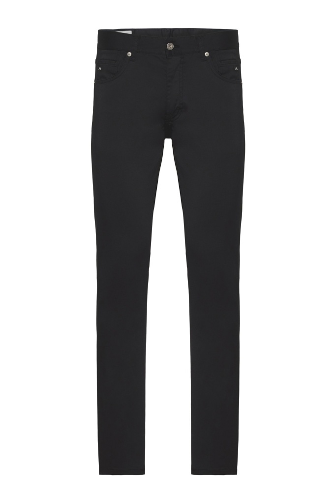 Jay Satin Jeans Black