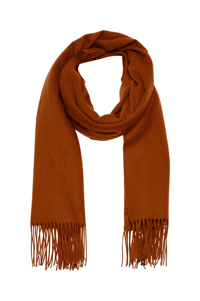 CrossGZ scarf Umber