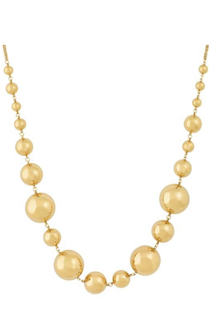 Bubbles Necklace Multi gold