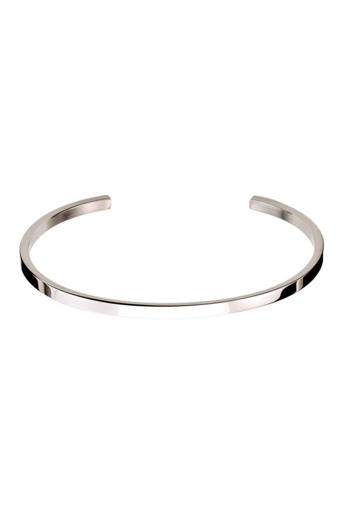 Circle Bangle Steel steel