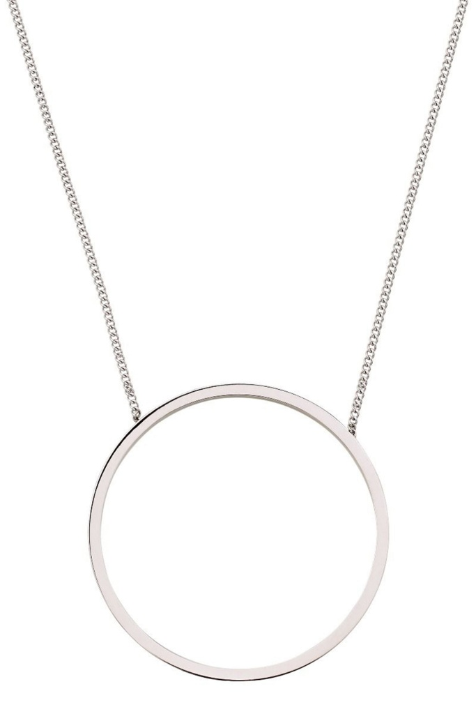Circle Necklace Steel steel