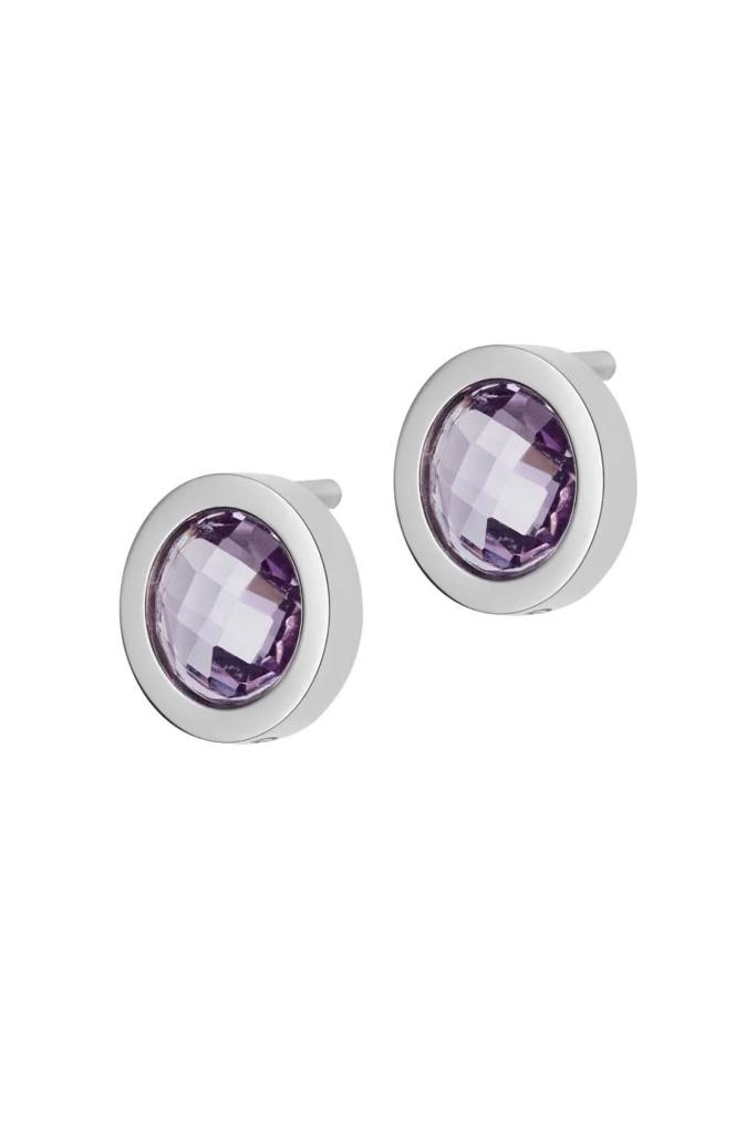 Colour Studs violet steel