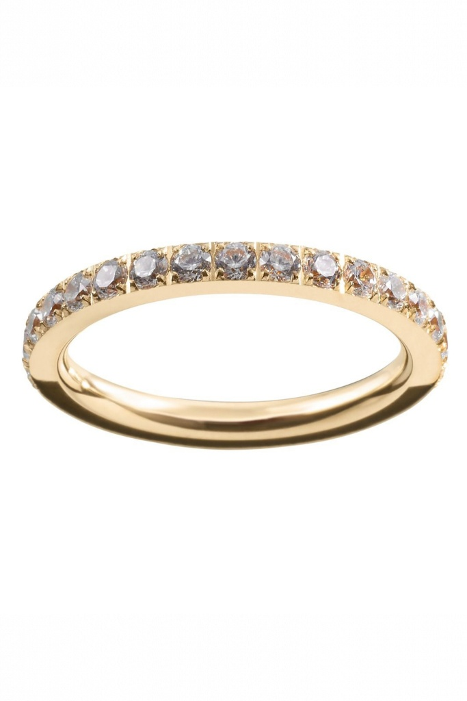 Glow ring micro gold gold