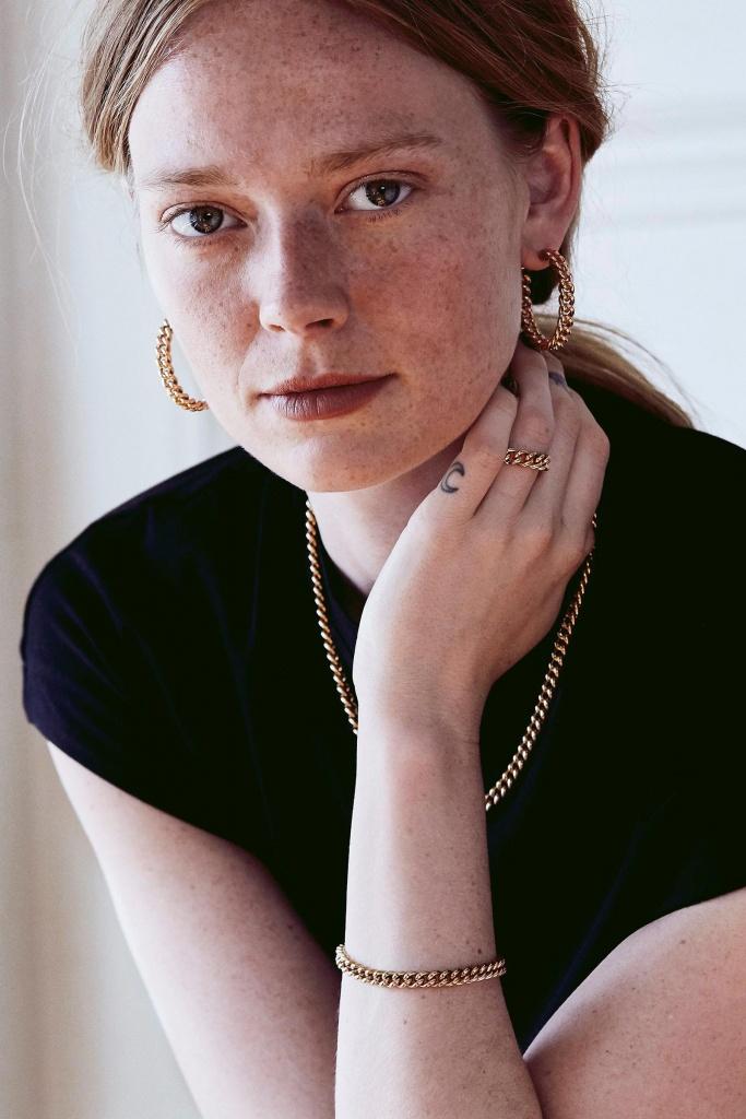 Lourdes Chain Bracelet gold