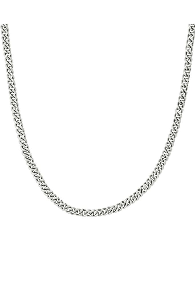 Lourdes Chain Necklace steel
