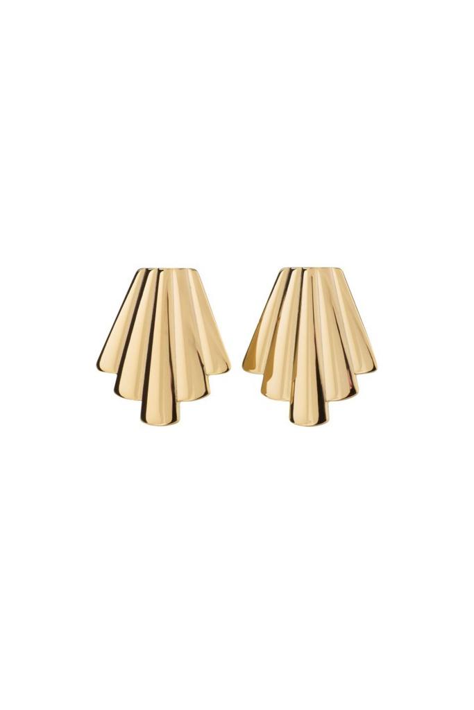 Michelle Earrings Gold gold