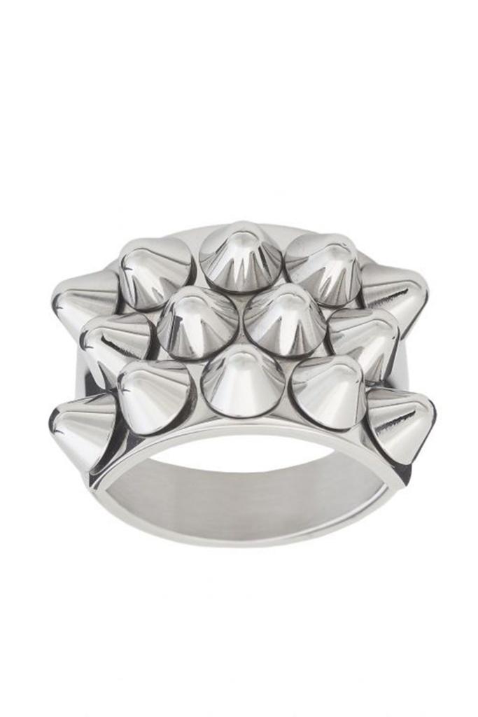 Peak Ring Steel steel