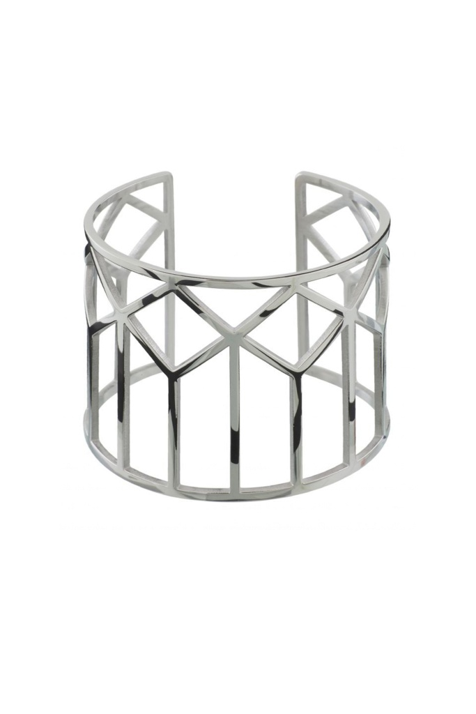 Shirin Bangle Steel steel