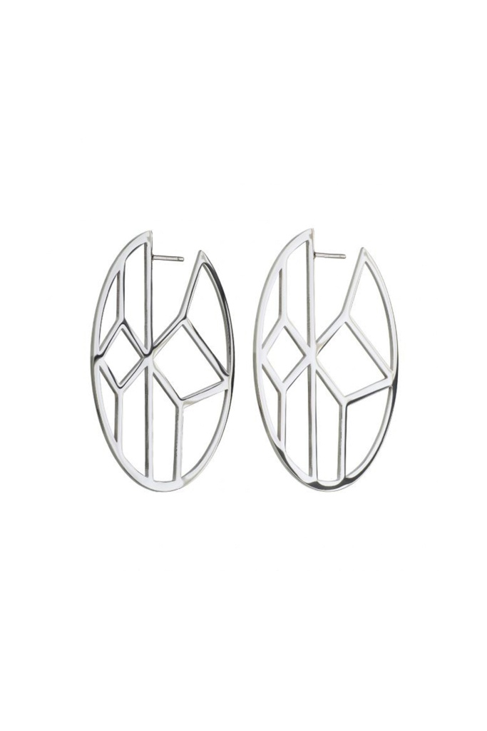 Shirin Earrings Steel steel
